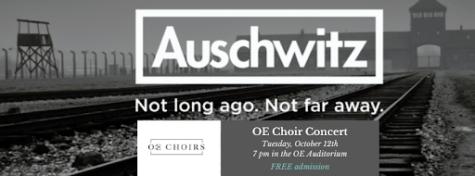 OE Choir Advertises Concert. Photo Courtsey of OE Choir